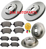 FOR TOYOTA COROLLA 1.8 VVTI T SPORT 2.0 D4D FRONT & REAR BRAKE DISCS & PADS SET