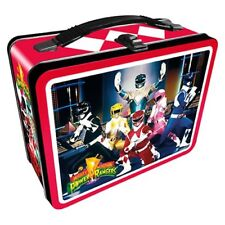 Power Rangers NEW * Metal Lunchbox Tote * Tin Lunch Box Mighty Morphin