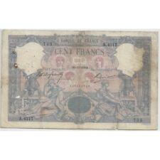 FRANCE 100 FRANCS BLEU ET ROSE SERIE A.4217 30-11-1904 B+