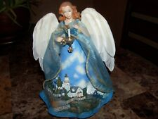 Thomas Kinkade-Ashton-Drake Galleries (A Light In The Storm) Safe Harbor Angel