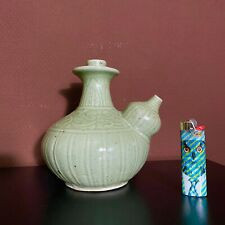 porcelaine vase kendi céladon Chinese Qing 19eme XIXeme siècle 19TH Century