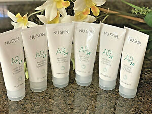 Nu Skin nuskin AP-24 Whitening Fluoride Toothpaste - 6 Tubes EXP 2023