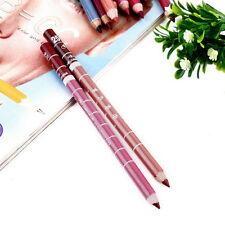 New 12 Pcs Professional Lipliner Waterproof Lip Liner Pencil 15Cm Sq