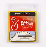 Genuine Grover Bridge for Tenor Banjo, Leader 5/8 inch