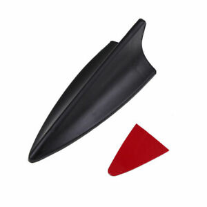 1pc Universal Car Shark Fin style Roof Decorative Decorate Antenna Aerial Black