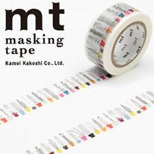 MT Washi Masking Deco Tape Scandinavian Motifs Designed by almedahls