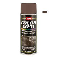 SEM Color Coat System 15033 Saddle Tan Aerosol Vinyl Spray Paint 12OZ Can