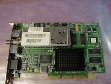 ATI RAGE PRO 128 ALL-IN-WONDER TV TUNER TV-OUT 3D AGP VIDEO CARD #200