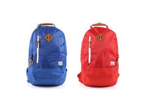 HERSCHEL SUPPLY CO - VILLAGE Red Rip Stop / Cobalt Ripstop Backpack Book Bag