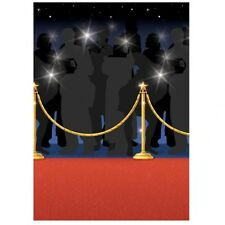 RED HOLLYWOOD CARPET ROLL RUNNER PARTY DECORATION WEDDING OSCAR SCENE SETTER