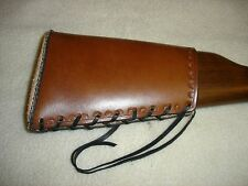 Leather Henry 22 Rifle Buttstock Straight stock(it takes 20 days to get it done