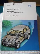 VW Der Touareg  Fahrwerk u. Allradkonzept SSP 302 - gebraucht