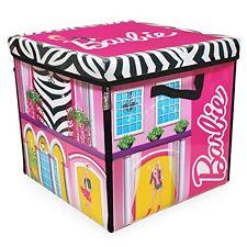 Mattel Barbie Spielzeug Zipbin Traumhaus Aufbewahrungskiste mit Spielmatte