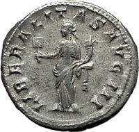GORDIAN III 238AD Authentic Genuine Ancient Silver Roman Coin Liberality i59120