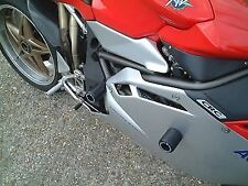 R&G RACING Crash Protector - MV Agusta F4, lowers  **BLACK**