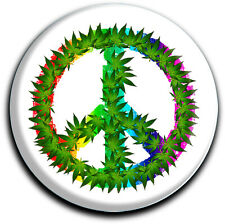 metALUm runder Acrylmagnet mit starkem Neodym - Magnet Peace #1301004