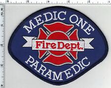 Gig Harbor Fire Dept (Washington) Medic One Paramedic Shoulder Patch - 1980's