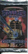 Doctor Who Battles In Time Exterminator Factory Sealed Hobby Packet / Pack