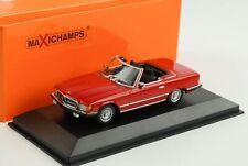 1974 Mercedes-Benz 350 SL R107 rot 1:43 Minichamps Maxichamps