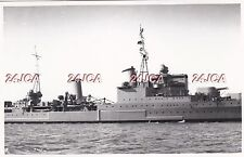 "Original Photograph Royal Navy. HMS ""Glasgow"", Light Cruiser. Midsection! 1937"