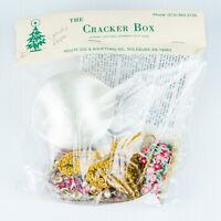 "New Vintage 1988 Candy Apple Cracker Box 3"" Christmas Ornament Kit NIP"
