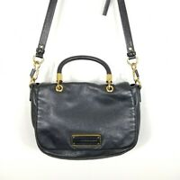 Marc by Marc Jacobs Black Leather Too Hot To Handle Shoulder Bag Crossbody