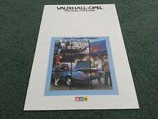 1983 / 1984 VAUXHALL DIESEL CARS - Astra Cavalier Carlton - UK BROCHURE - V5189