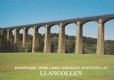 Postcard - Pontcysyllte - Shropshire Union Canall Aquaduct, Llangollen