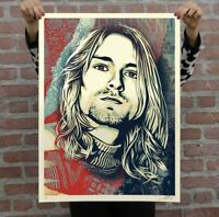 Shepard Fairey Kurt Cobain Endless Nameless Obey Giant Signed Numbered Print