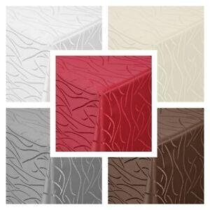 Tischdecke Streifen Wellen Moderno Form,Größe und Farbe wählbar