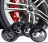 4 COPRIMOZZO ADESIVI ABARTH FIAT 500 GRANDE PUNTO 595 695 SPORT
