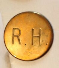 Vintage Ross Harriers Hunt Button 21mm - no backstamp