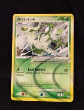 Pokemon Arceus Lv.100 AR2 Promo card