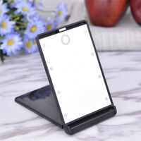 Makeup Foldable 8 LED Double Sided Mirror Travel Compact Pocket Mirror Cosmetic