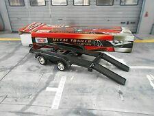 Anhänger Car Trailer Cartrailer Doppelachser für Modellautos Motormax SP 1: 43