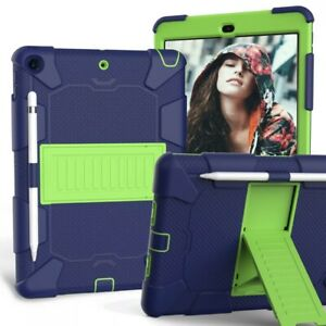 For iPad 10.2'' 2020 8th Generation Heavy Duty Case Shockproof Hard Stand Cover