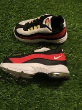 Nike Air Max 95 White Bright Crimson Black Toddler Size 7c