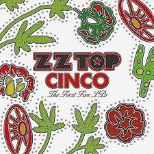 ZZ TOP - CINCO:THE FIRST FIVE LP'S  5 VINYL LP NEU