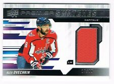 2019-20 Upper Deck Premier Premier Swatches Jersey #PS-AO Alex Ovechkin 17/99