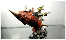 WORLD of WARCRAFT WOW GOBLIN TINKER GIBZZ SPARKLIGHTER ACTION FIGURES STATUE TOY