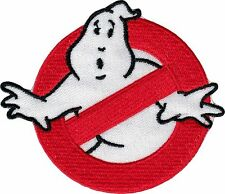 20263 Ghostbusters No Ghosts Emblem Movie Film Embroidered Sew Iron On Patch