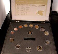 Estland KMS Kursmünzensatz 2011 PP mit Medaille 333er Gold