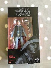 Guerra DE LAS GALAXIAS la serie negra Rebel Fleet Trooper 6 Pulgadas Figura-Nuevo en la acción
