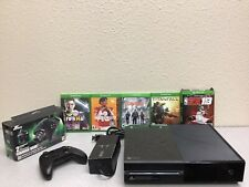 New listing Microsoft Xbox One Model 1540 500Gb Black Console, 1 Controller & 5 Games