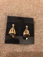 "Toned Earrings $31 (Dc) Premier Designs ""Truffle"" Gold/Brown"