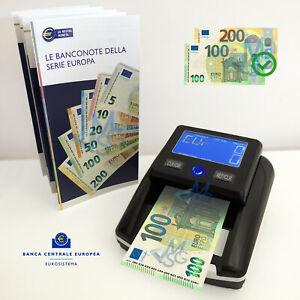 Verificatore soldi falsi Aggiornato Euro 2021 Rilevatore banconote contraffatte