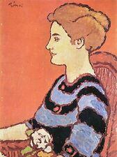 Joseph rippl Ronai dame en bleu OLD MASTER ART PAINTING imprimé Poster 1692oma