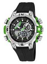 Graue Armbanduhren mit Drehlünette und mattem Finish