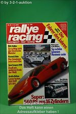 Rallye Racing 25/88 Cizeta Volvo 740 VW Golf GTI 16V