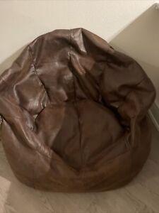 BIG JOE BROWN BEAN BAG